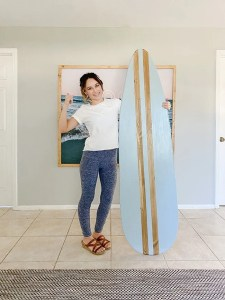 diy wood surfboard