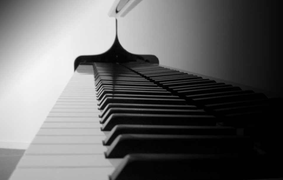 Black and White Keys in Piano and Life