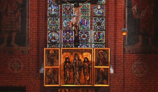 Ołtarz w toruńskiej katedrze Świętych Janów