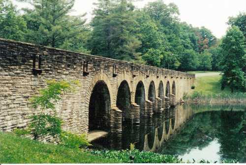 Bridge in Cumberland State Park near Crossville, TN