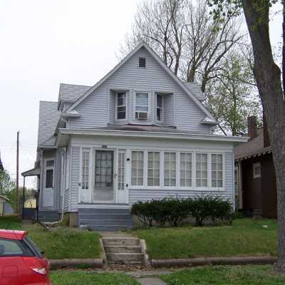 My former home in Terre Haute