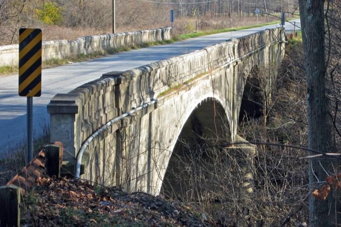 1935 concrete-arch bridge, Decatur County, Indiana