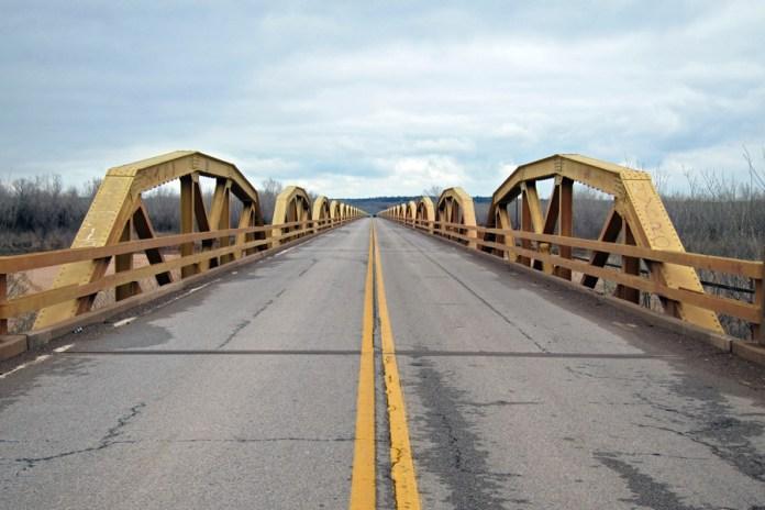 1933 William H. Murray Bridge, Canadian and Caddo Counties, Oklahoma
