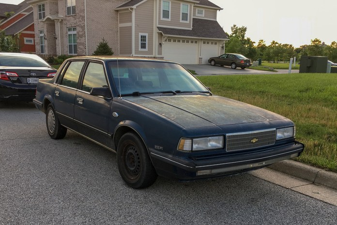 1987-89 Chevy Celebrity