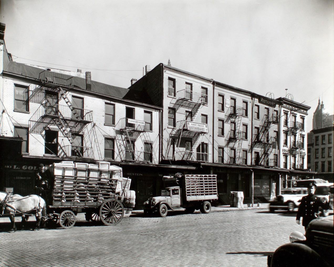 West Street Row, I. 178-183 West Street, Manhattan, 1936