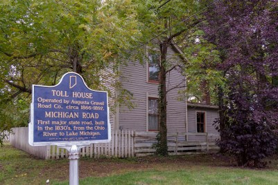 Michigan Road Toll House