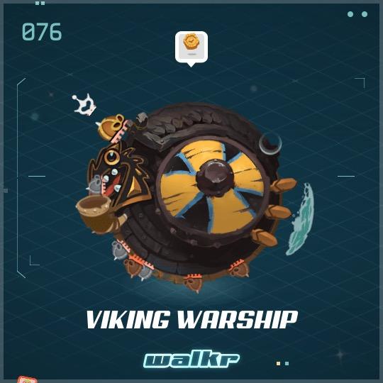 No.076 Viking Warship