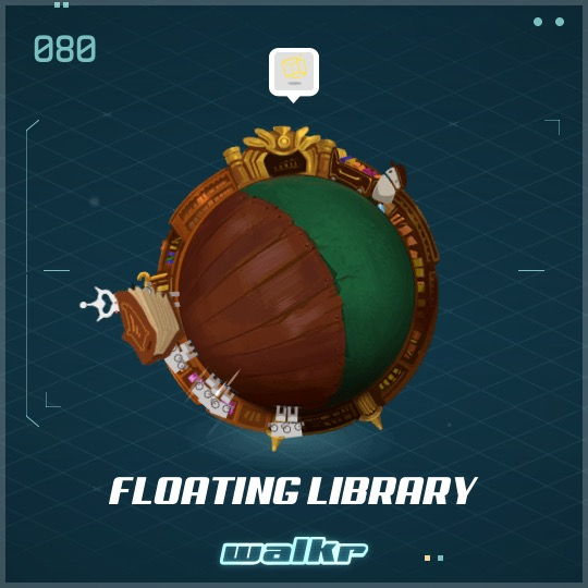 No.080 Floating Library