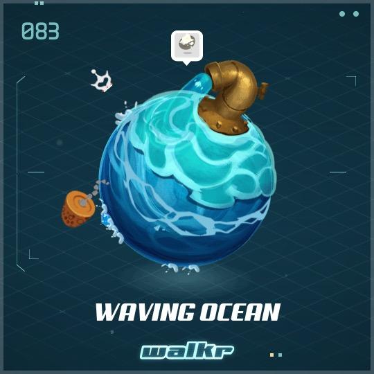 No.083 Waving Ocean