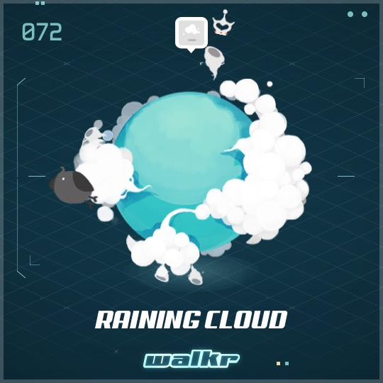 No.072 Raining Cloud