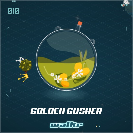 No.010 Golden Gusher