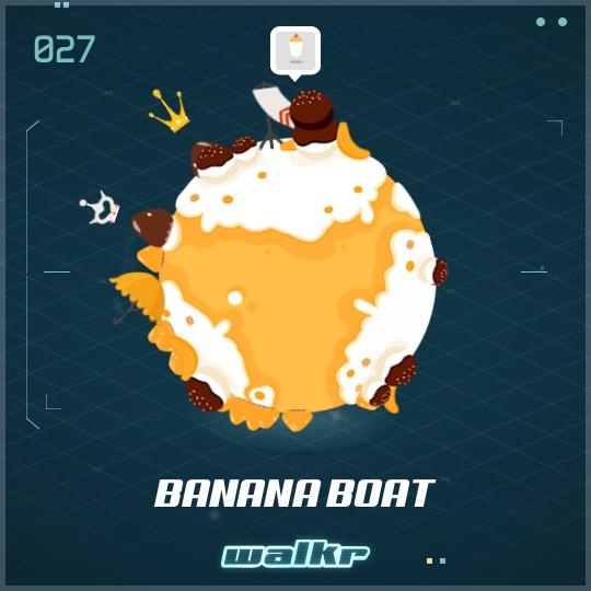 No.027 Banana Boat