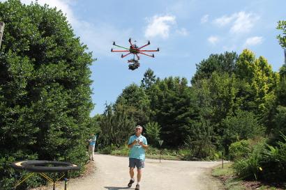A Drone in the Garden