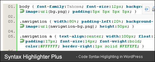 Syntax Highligher