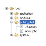 Zmodyfikowana struktura katalogów