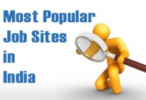 most popular job sites in india
