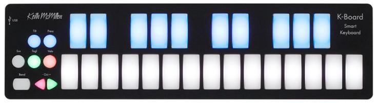 Keith McMillen Instruments K-Board 25-key USB MIDI Controller