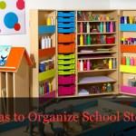 Top 5 School Storage Ideas To Organize