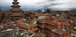 The Roof Tops of Bhaktapur, Nepal