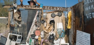 The Wonderful, Chateau Relaxo, Slab City, CA