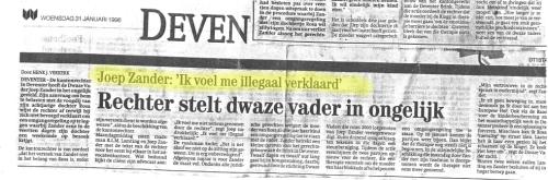 illegaal verklaard