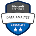 Microsoft Data Analyst Associate Badge