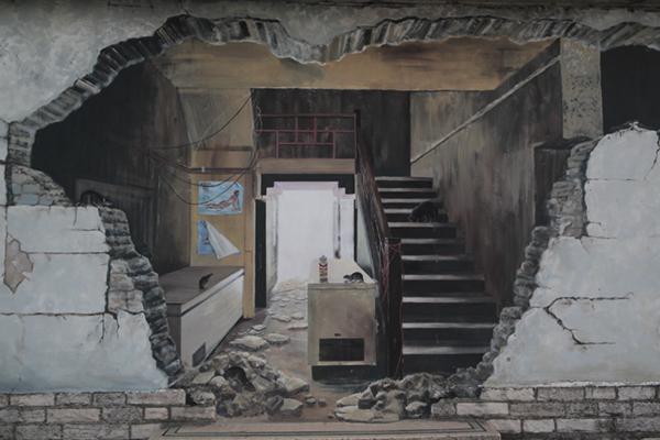 swange mural by nina camplin photographed by john hicks