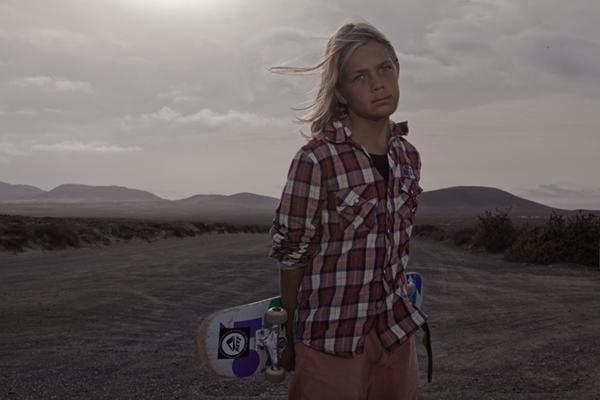 skateboarder by john hicks