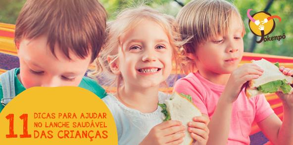 Sabemos que os nossos filhos precisam de um lanche saudável, mas com a correria do dia a dia fica difícil manter a alimentação certa para as crianças na hora do lanche. Por isso, confira nossas dicas: