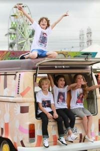 Roupas personalizadas da Jokenpô para viagens em família