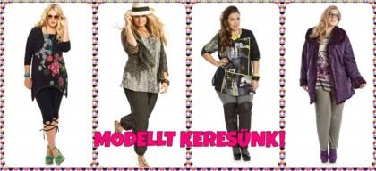 Mo9lett ruhát molett modellen érdemes bemutatni.