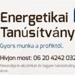 Energetikai tanúsítvány - logo