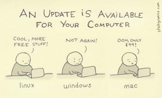 Cartoon by http://www.stickycomics.com/computer-update/