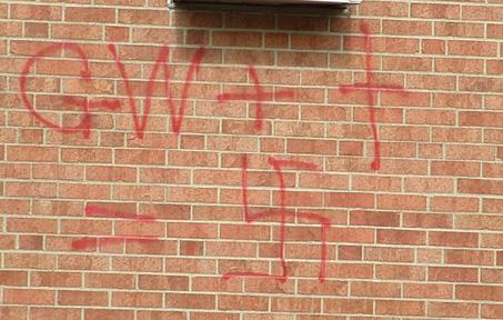 GW + (cross) = (swastika)