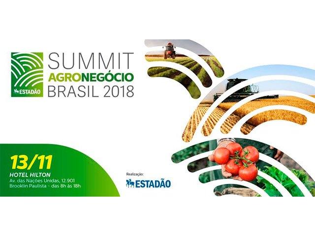 Summit Agronegócio Brasil 2018 acontecerá em novembro em SP