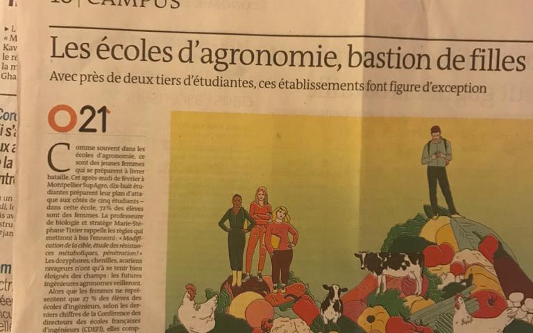 Cursos de Agronegócio na França tem 3 mulheres estudando para cada homem
