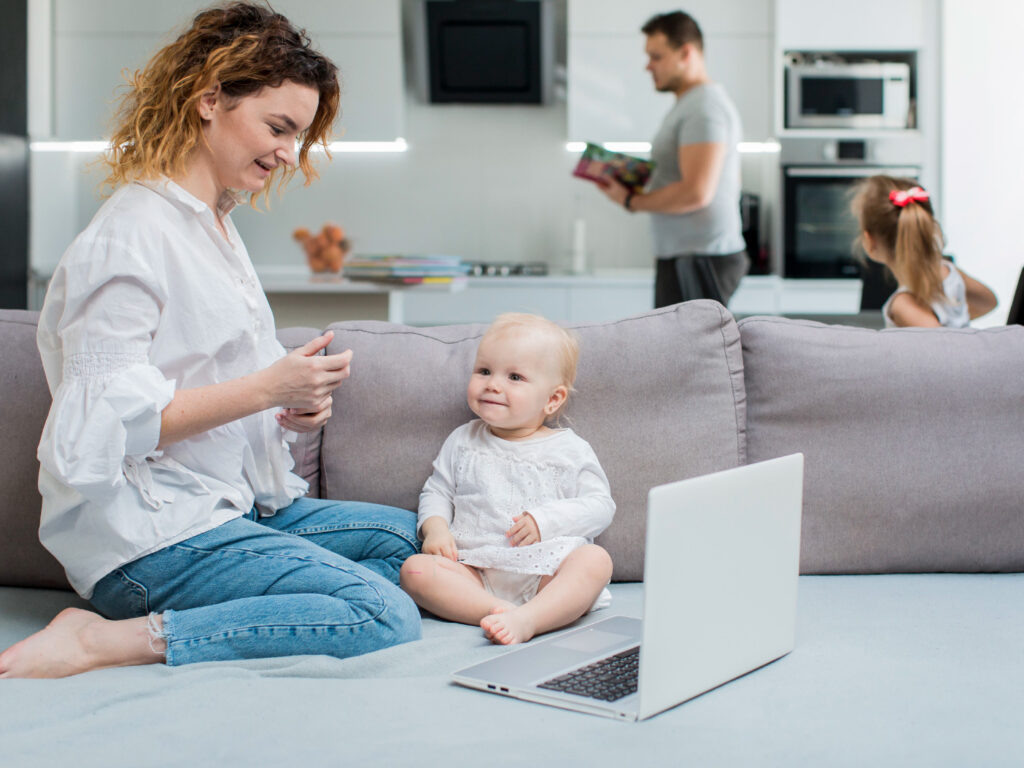 Work from Home with Toddlers
