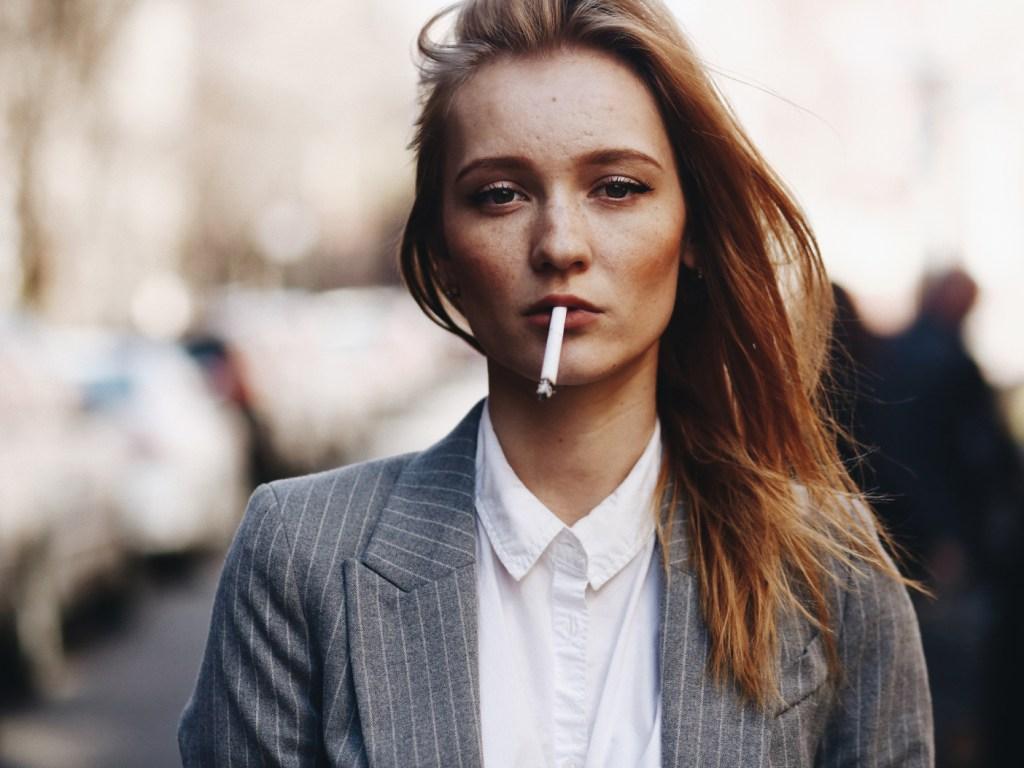 A Smoker Girl
