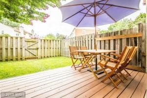 JS Realty House Backyard Fence Dellway