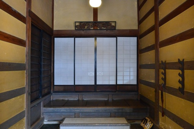 This is the formal entrance for the guests visiting Ito Family