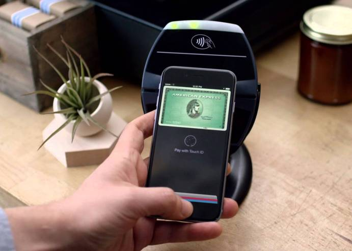Apple Pay com o cartão American Express Green Card