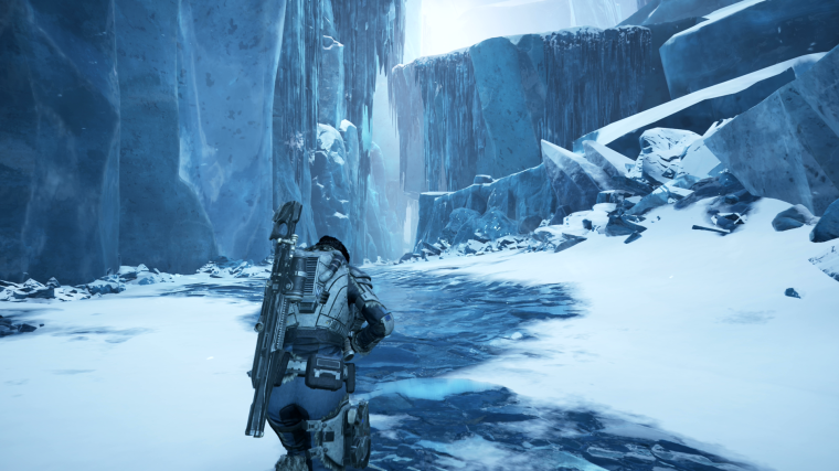 Gears 5 no Gelo Ice 1920x1080