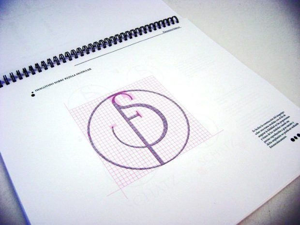 Print piece Visual identity manual image