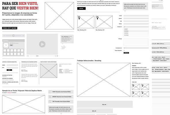 Construction design grid image