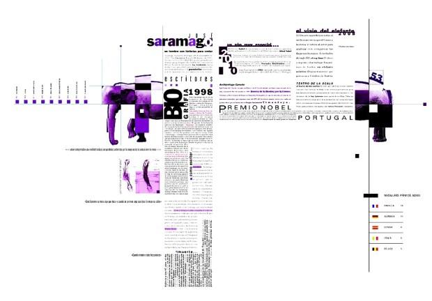 Mostres de disseny i maquetació en composició
