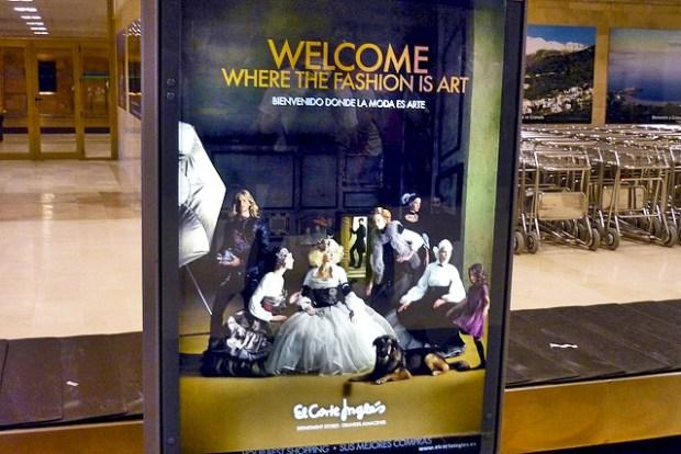 Velázquez Las Meninas  creative advertising