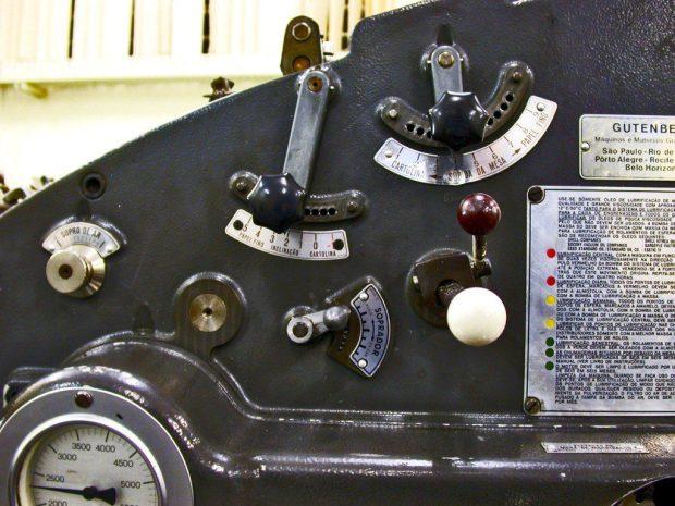 Stamping machine offset printing