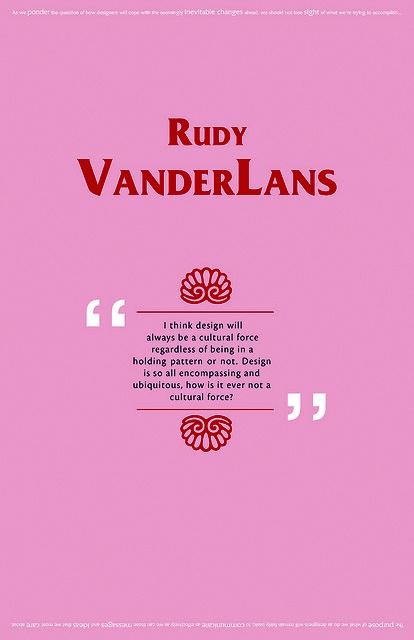 Rudy VanderLans graphic design Emigre Magazine