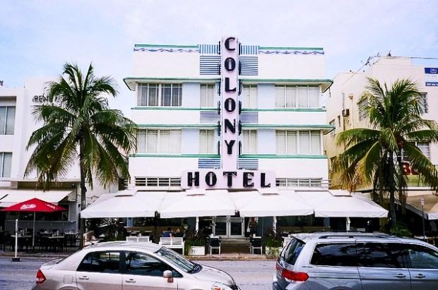 Muestras de Art Decó en Ocean Drive