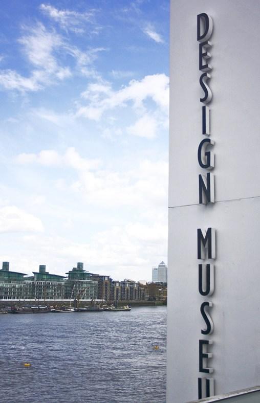 London Design Museum letras fachada